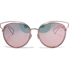 47123db5171 Dior Rose Sideral 2 Sunglasses (3 590 SEK) ❤ liked on Polyvore featuring  accessories