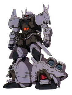 The MS-07H-8 Gouf Flight Type is an experimental mobile suit that appears in the series Mobile Suit Gundam: The 08th MS Team.