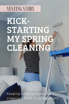 Kick-Starting My Spring Cleaning & A Simple Fridge Deodorizer Hack