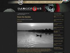 Dangerous Magazine: River Gambia Expedition with photographer/writer, Jason Florio, and photography producer/writer, Helen Jones-Florio