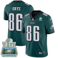 99f7c1630 Philadelphia Eagles jersey · Nike Eagles  86 Zach Ertz Midnight Green Team  Color Super Bowl LII Champions Men s Stitched