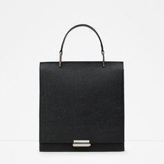 Image 1 of EMBOSSED CITY BAG from Zara