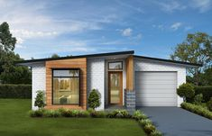 Wattle - Green Homes Green Home Offices, Passive Design, Plans Architecture, Alfresco Area, Green Homes, Small Modern Home, Entrance Ways, Energy Efficient Homes, Small House Design