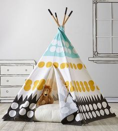Camping at Home: Play Tents for Playrooms & Outdoors | opeeqo