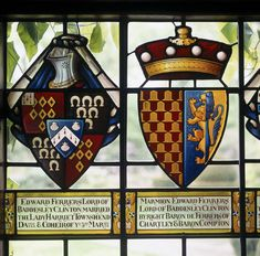 stained glass coat of arms - Google Search