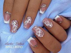 #brillbird #nail #nailstagram #mukorom #mukormos #whitefrench #nude #nudenails