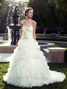 Casablanca Bridal Gown Style - 2078