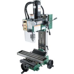 Grizzly Industrial x HP Mini Milling Machine Milling Machine For Sale, Machine Tools, Benchtop Milling Machine, Working Area, Metal Working, Bridgeport Mill, Electric Logs, Diy Cnc Router, End Mill