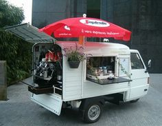Italian Entertainment - Caffe La Strada. De verfijnde koffie beleving op 3 vierkante meter Italië