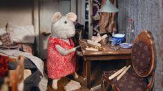 """Mehr als hundert liebevoll gestaltete Zimmer hat das """"Mäusehaus"""" aus den Kinderbüchern von Karina Schaapman. Wer genau hinschaut, entdeckt darin die Spuren des dramatischen Lebens seiner Schöpferin. - Bild 4 von 11"""