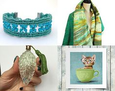 gift for her... mint march  by Svetlana Pershina on Etsy--Pinned+with+TreasuryPin.com