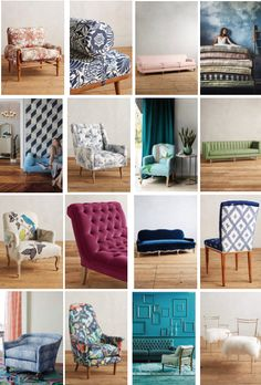 Bohemian Daybeds, Sofas, Chairs