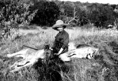 Karen Blixen on safari