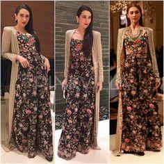 Celebrity Style,karisma Kapoor,Esha Amiin,Anamika Khanna Couture