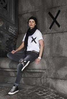 T-shirt against breast cancer, design Emma Fexeus, emmas designblogg