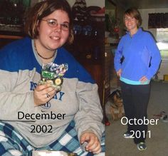 Before & After Weight Loss Success Story Photo!! Way to go!!  Such an improvement in health!!