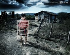 The only thing he should lack is hunger --- Public Awareness Ads That Make You Think