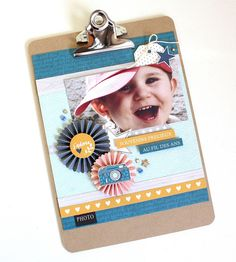 Crafting ideas from Sizzix UK: Boy version