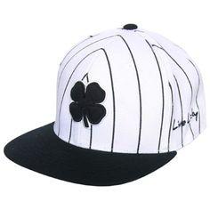 Black Clover Lucky Stripe Flat Bill Fitted Golf Hat 0a0fb2ba02b4