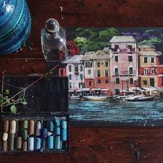 Идеи для жизни: Пастель от художницы Елены Таткиной.#творчество@ideas.life