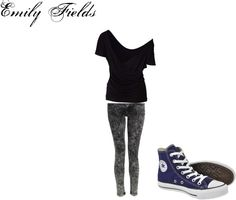 """""""Emily Fields Inspired Outfit"""" by rebecca-fitzpatrick on Polyvore"""