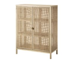 STOCKHOLM 2017 Schrank – Rattan, Esche IKEA – STOCKHOLM Cabinet, Rattan and ash – Natural materials, which over time get a fine patina. Thanks to adjustable feet, it is also stable on uneven floors. Furniture, Interior, Home Furnishings, Ikea Finds, Home, Home Furniture, Ikea, Interior Design, Ikea Stockholm