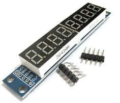 Find More Electronics Production Machinery Information about Smart Electronics MAX7219 CWG 8 Digit Digital Tube Display Control Module Red Three IO For aeduino,High Quality io board,China io Suppliers, Cheap io protection from Goldeleway smart orders store on Aliexpress.com