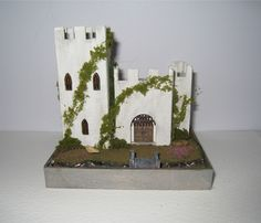 Pic 1 of 2 ~ Castle, furnished, in scale. via Etsy. Fairy Houses, Doll Houses, Chicago Museums, Dragon Party, Fairytale Castle, Tiny Dolls, Miniature Furniture, Diorama, Dollhouse Miniatures