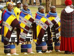 Ndebele women in South Africa! Ndebele women in South Africa!