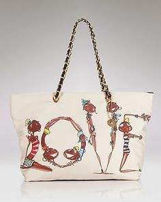 """Love"" Moschino Shopper"