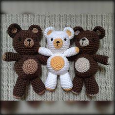 Ursinhos amigurumi