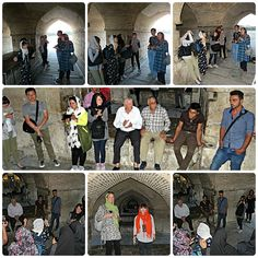 20150928_222050ipCollage - #Singing bringing #locals & #tourists together under a #bridge in #Isfahan, #Iran so that all can have a great time together enjoying each other's #songs and the great #acoustics from #architecture of the bridge. #holiday #travel #CountryHolidays