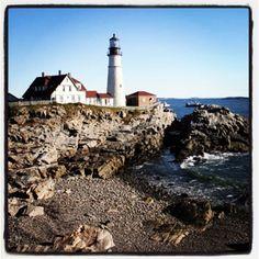 Portland Head Lighthouse #Maine