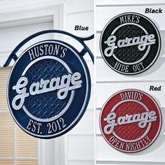 Retro Garage SIgns @ Fresh Finds