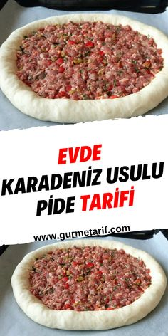 Pasta Recipes, Appetizer Recipes, Snack Recipes, Appetizers, Snacks, Turkish Pizza, Learn Turkish, Turkish Recipes, Apple Cider