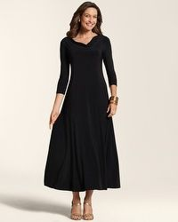 Cassie Cowl Maxi Dress