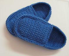 Pantoufles au crochet de style loafers pour hommes