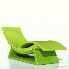 Tic Tac - Adjustable Deck Chair  Slide Design