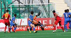 In the first match of the day at the Hero Hockey Junior World Cup 2013, European Champions Belgium defeated Korea 6-1 in 5th-8th classificat...