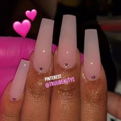 Some of my very most FAQs have to do with my nails! At any time I get my nails done I get tons and also lots of DMs regarding it. What did you do for you nails? Aycrlic Nails, Swag Nails, Coffin Nails, Bling Nails, Acrylic Nails Natural, Pink Acrylic Nails, Clear Acrylic, Pastel Nails, Acryl Nails