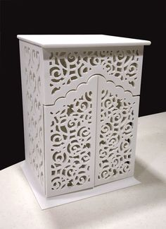 Corian Solid Surface Small Temple Design With Back Panel - Shopinterio Bedroom Tv Unit Design, Home Room Design, Home Interior Design, House Design, Rustic Doors, Wooden Doors, Thermocol Craft, Wooden Front Door Design, Temple Design For Home