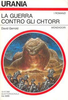 1194 	 LA GUERRA CONTRO GLI CHTORR 13/12/1992 	 THE WAR AGAINST THE CHTORR: A MATTER FOR MEN (1983)  Copertina di  Oscar Chichoni 	  DAVID GERROLD