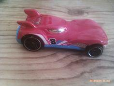 Red hot wheels car