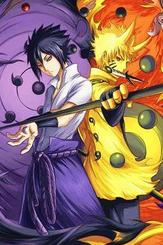 Naruto & Sasuke United Again
