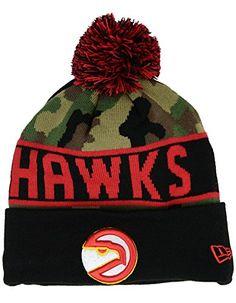 14382172b2f Atlanta Hawks New Era NBA HWC Knit Pom Beanie Cap Hat