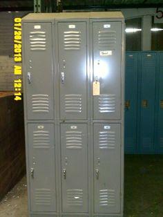 Used Republic Storage Systems Half Door Lockers Lockers For Sale, Used Lockers, Door Locker, Half Doors, Personal Storage, Storage Systems, Locker Storage