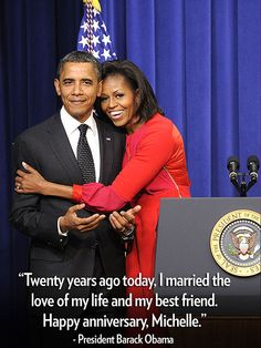 Barack and Michelle, our First Couple.