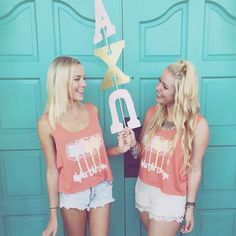 bid day tanks made by #224Apparel ❤️