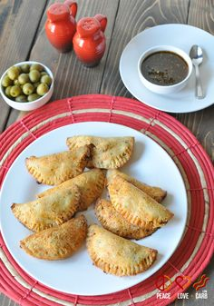 Beef and Chorizo Empanadas with Balsamic Chimichurri - Low Carb, Gluten Free - I will probably skip the eggs and add some chihuahua or pepperjack shredded cheese.