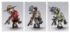 How Plants vs Zombies Garden Warfare Characters Came to Life - EA News